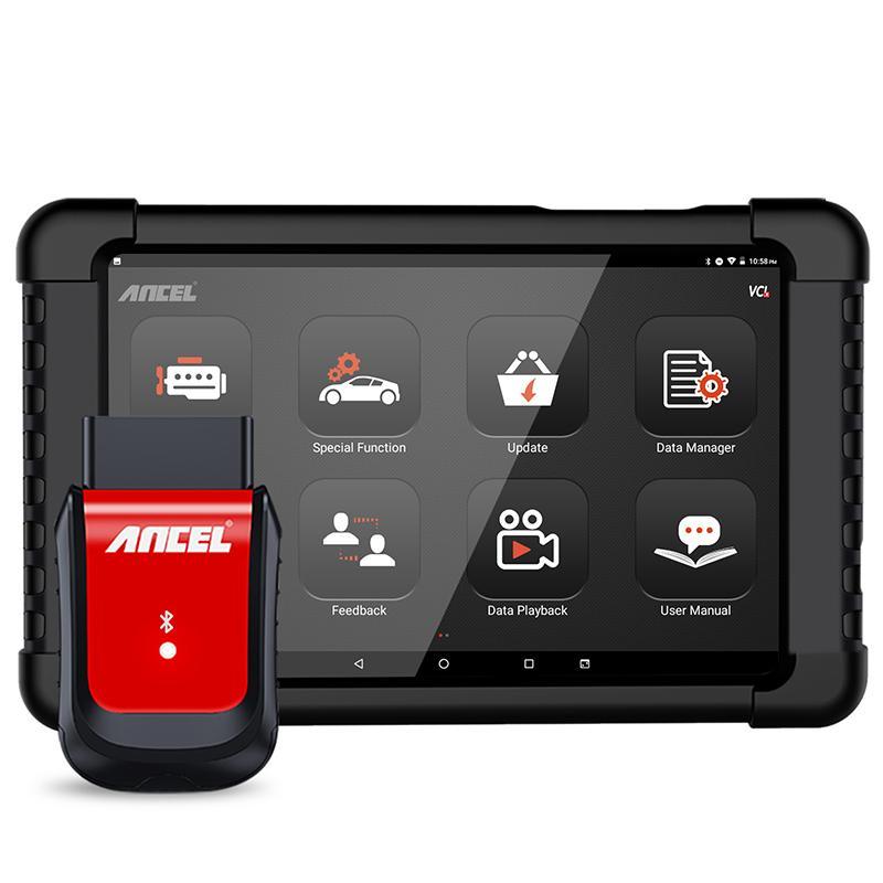 ANCEL X6 OBD2 Bluetooth del coche herramienta de diagnóstico ABS aceite EPB DPF acelerador inyector Airbag Restablecer completa Sistemas OBD2