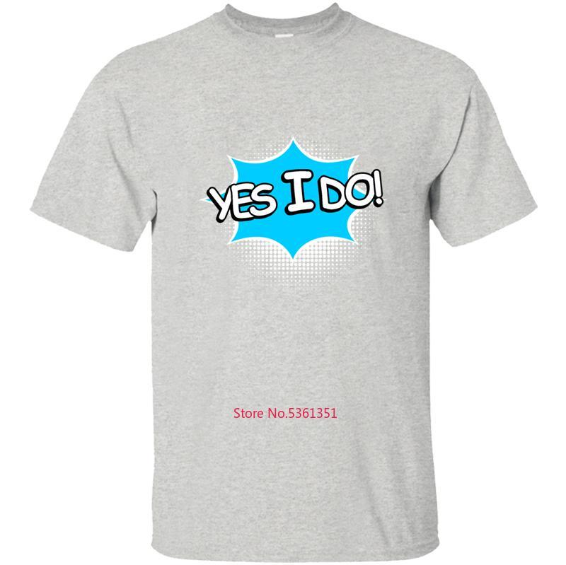 Baskılı Evet Yaparım Tişört Erkekler Tişörtlü Tee Gömlek Giyim O-Boyun Erkek Boyut S-5XL 2020 Hip Hop HOMBRES Soğuk