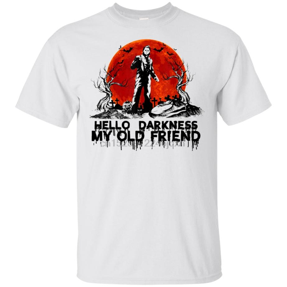 Michael Myers T-shirt My Old Friend Mens Tee Shirt manica corta S-3XL oversize Tee Shirt
