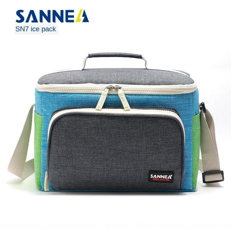 Sanneng neue Picknick Notepad Wärmedämmung portable Thermo Notizblock Isolierung Aluminiumfolie Lunch Bag Lunch Bag
