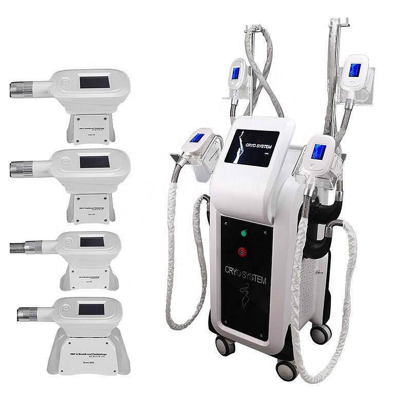 Son Cryolipolysis Yağ Freeze Makinası 4 Kolları Liposuction Yağ Temizleme Cryo Celluite Tedavi Lipoliz zayıflama makinesi