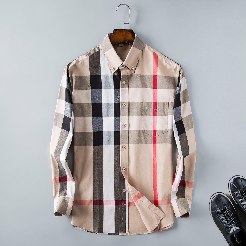 Marque de luxe de chemise mode logo hip shirt impression concepteur hommes hop chemise d'été unisexe taille manches longues S-3XL MM1
