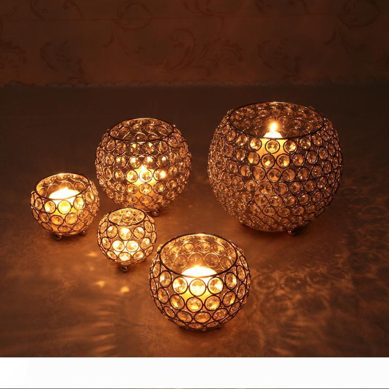 Crystal Tea Light Candle Holders For Wedding Table Centerpieces Dining Room Christmas Home Decorative Candle Lantern Silver Gold Green Candle Holder Green Candle Holders From Wanyun 24 Dhgate Com