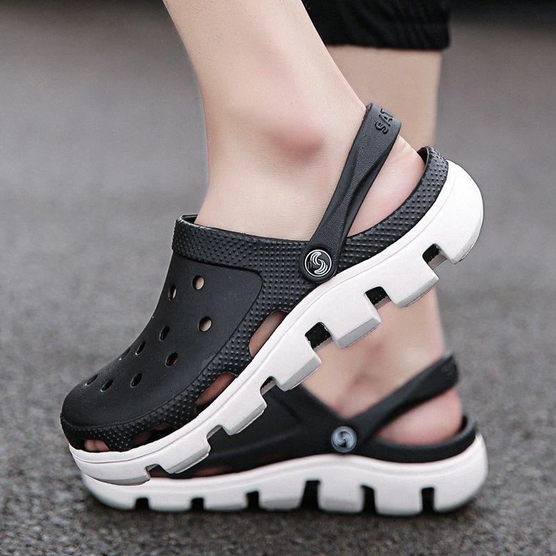 Original Jardim dos falhanços de secagem rápida de água Shoes Homens Esporte Praia Verão do Aqua Chinelo Sandálias Outdoor Miller impressão Shoes LPEm #