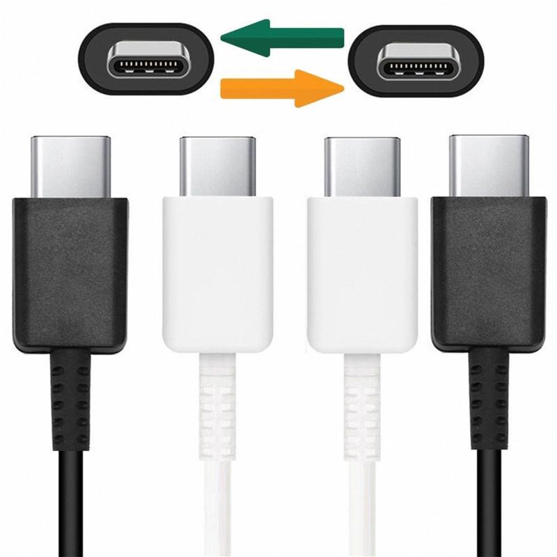 Kablo 1m 3 ft Fast Hızlı Şarj Usb C Usb C Kablo İçin Samsung Galaxy S8 S9 S10 Not 7 8 9 Lg c yazın