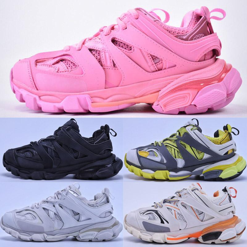 2020 نساء الإصدار 3.0 تيس S باريس المسار الرجال جمعه ماي الأسود الثلاثي S عالي الكعب حذاء رياضة حذاء عرضي الساخن منصة أصيل مصمم أحذية