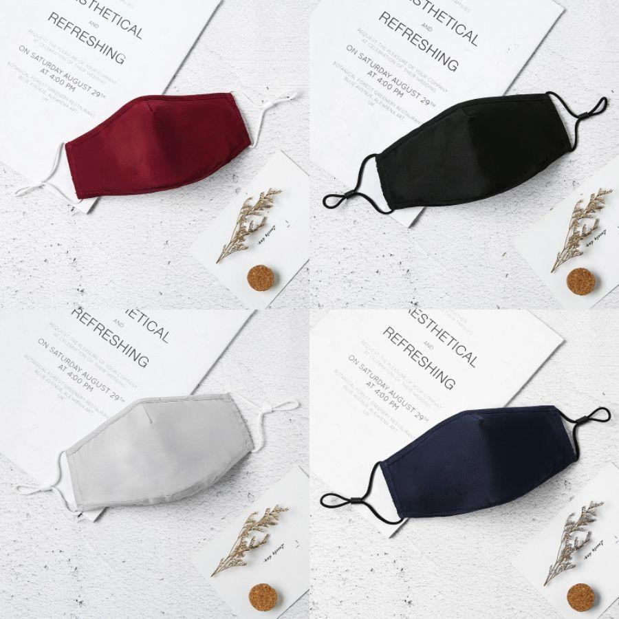 PM2.5 à prova de poeira máscara reutilizável esponja macia preto Máscaras Máscara Facial Designer Impresso Ciclismo Vestindo # 698 # 625