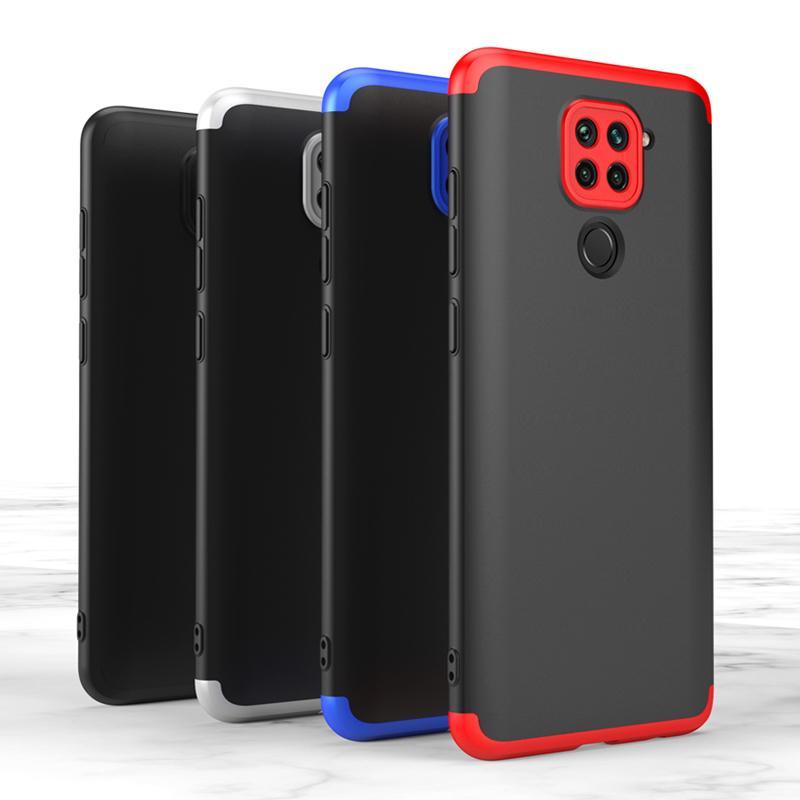 Redmi Note 9 complète Housse de protection pour Xiaomi redmi Note 9 cas Funda Cas de téléphone Rouge mi Note9 Coque