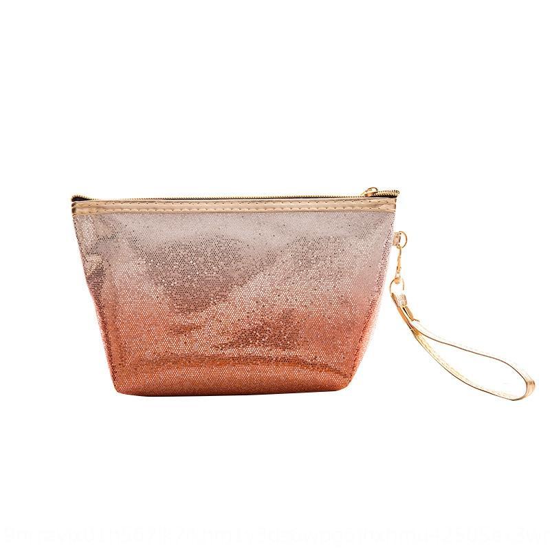 Gradyan kadın baskı depolama Gradyan kadın makyaj Kozmetik kozmetik çantası baskı depolama makyaj çantası