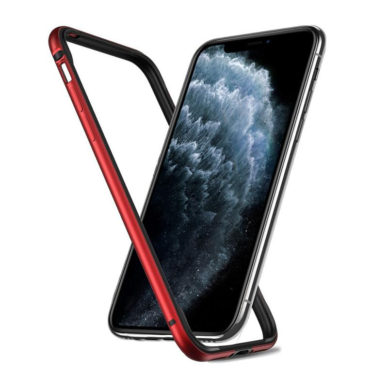 Skrzynia zderzaka dla iPhone 11 Pro Max XS Max XR X 7 8 Plus SE 2 2020 SE2 Skrzynia zderzaka Luksusowy Twardy Szczupły Cienki Osłona Ramki Zderzakowe Akcesoria