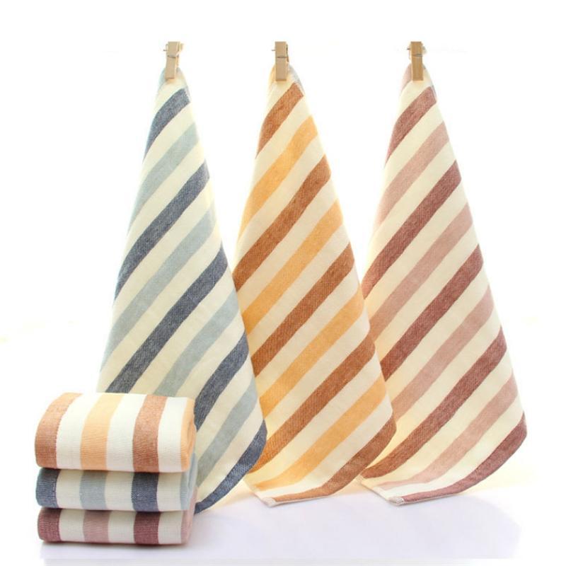 3pcs 34 * 34 centimetri Piazza solido asciugamano viso morbido cotone Colore di mano del cotone capelli Bagno Asciugamani all'ingrosso della fabbrica Logo personalizzabile