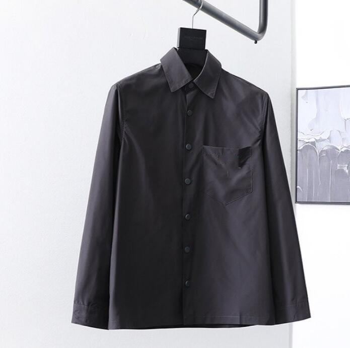 2020 nouveau d'homme pra manches longues chemise luxe ada bureau business shirt casual hommes blanc noir