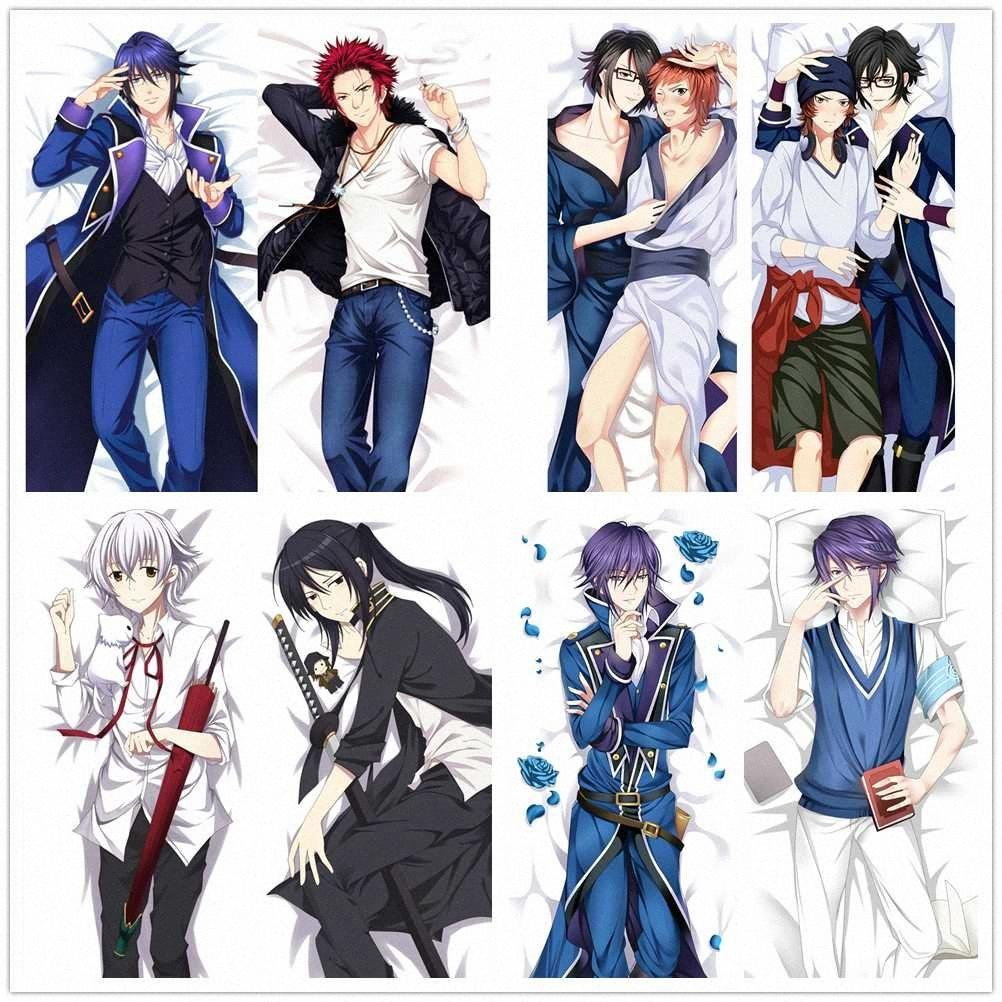Suef Anime Manga K Project Suoh Mikoto Munakata Reisi Dakimakura Two Sided Pillow Cushion Case Cover SY1201 Pillow Case Bolster Pillow FM2Z#