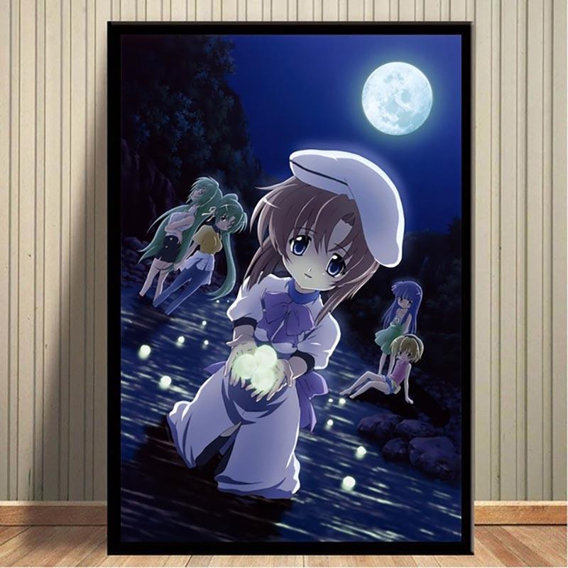 2020 Canvas Pictures Home Decor Painting Wall Art Prints Higurashi No Naku Koro Ni Modular Nordic Style Anime Poster For Living Room From Xu793737893 6 36 Dhgate Com