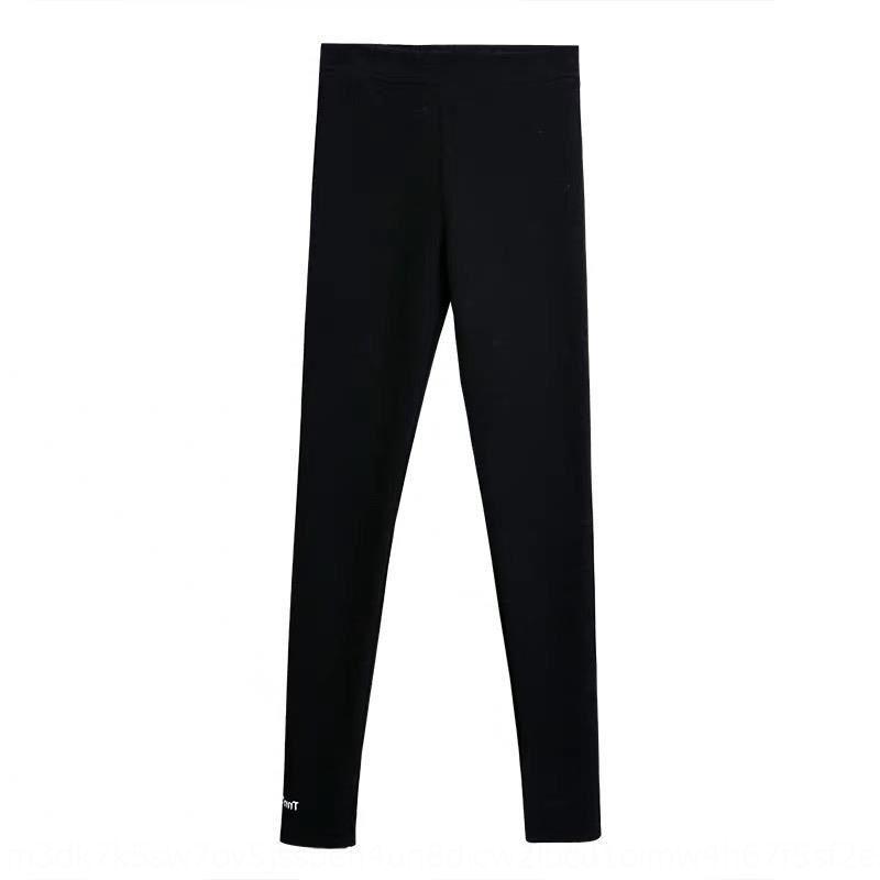 UKHMR WNVRR Threaded вышитые леггинсы женские наружные одежды 2019 весна Tiktok летнее новое пальто HTth Tight брюки и брюки Леггинсы Leo