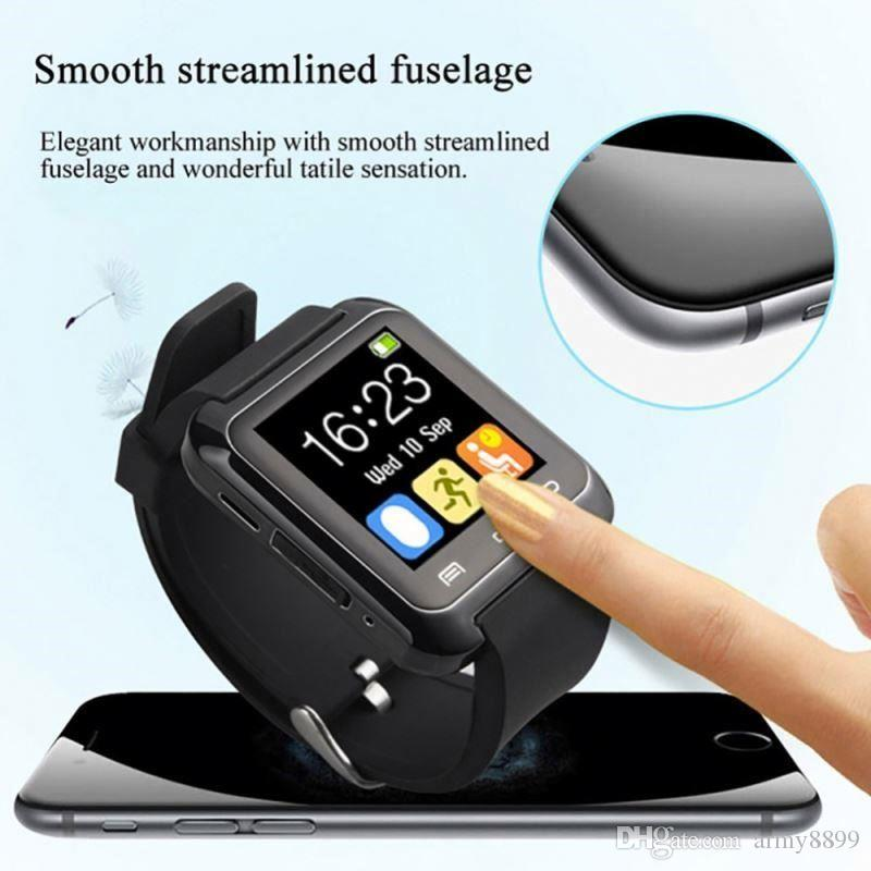 U8 smartwatch U8 Bluetooth Smart Watch Phone Mate 30 For Android&IOS Iphone Samsung s10 LG Sony