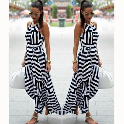 Para mujer diseñador del vestido de las nuevas mujeres de swing largo Faldas 2020 moda geométrica Imprimir ropa suelta vestido del verano de las mujeres diseñador liga del vestido