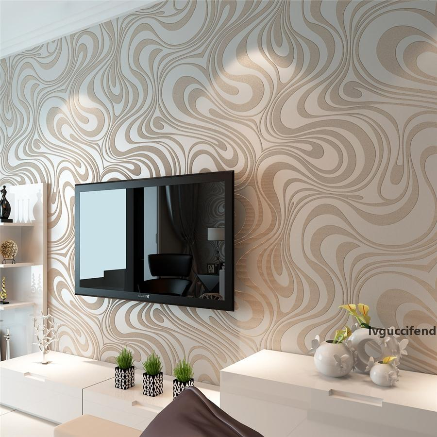 Fashion Hot 0.7m*8.4m Wallpaper Rolls Papel De Parede Sprinkle Gold Murals Damask Wall Paper Roll Modern Stereo 3d Mural Wall Paper