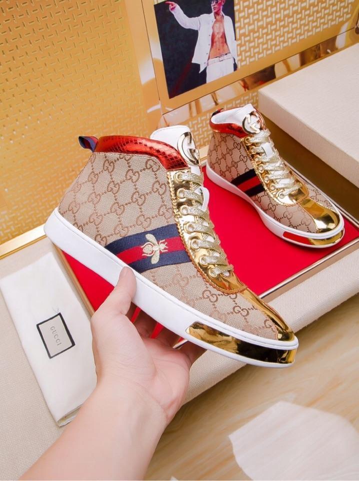 Nuevo? 8 zapatos de alta costura a la ayuda de los hombres ocasionales del calzado deportivo salvajes zapatos al aire libre de los hombres de encaje cómodo caja de embalaje original rápido de