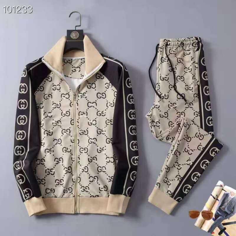 20SS осень Дизайнер Толстовка КОСТЮМ Mens Zipper Running костюмы мужские с длинным рукавом Jogger штаны моды пот костюмы M-3XL