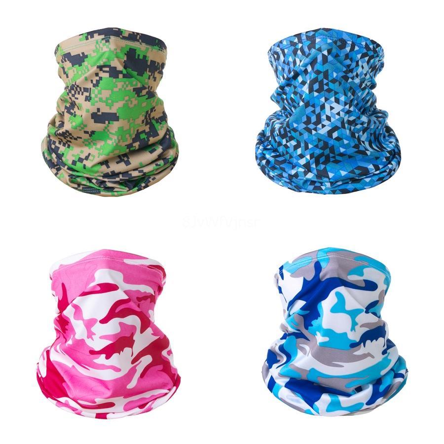 Женщины Магия Камуфляж Магия маска для лица Защита шарф Пятна Szalik Komin ВС маска Мужчины шарф банданы ветрозащитный # 848 # 982