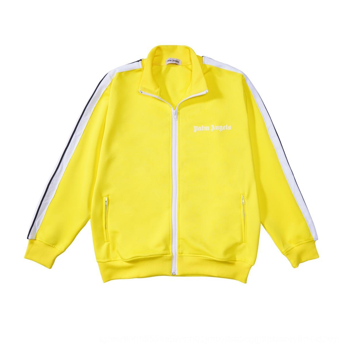8hu1l marca de moda de ropa deportiva de palma palma de la cinta de la cinta clásica y un pantalón chaqueta de cremallera de la cremallera de la chaqueta ocasional de los hombres de las mujeres