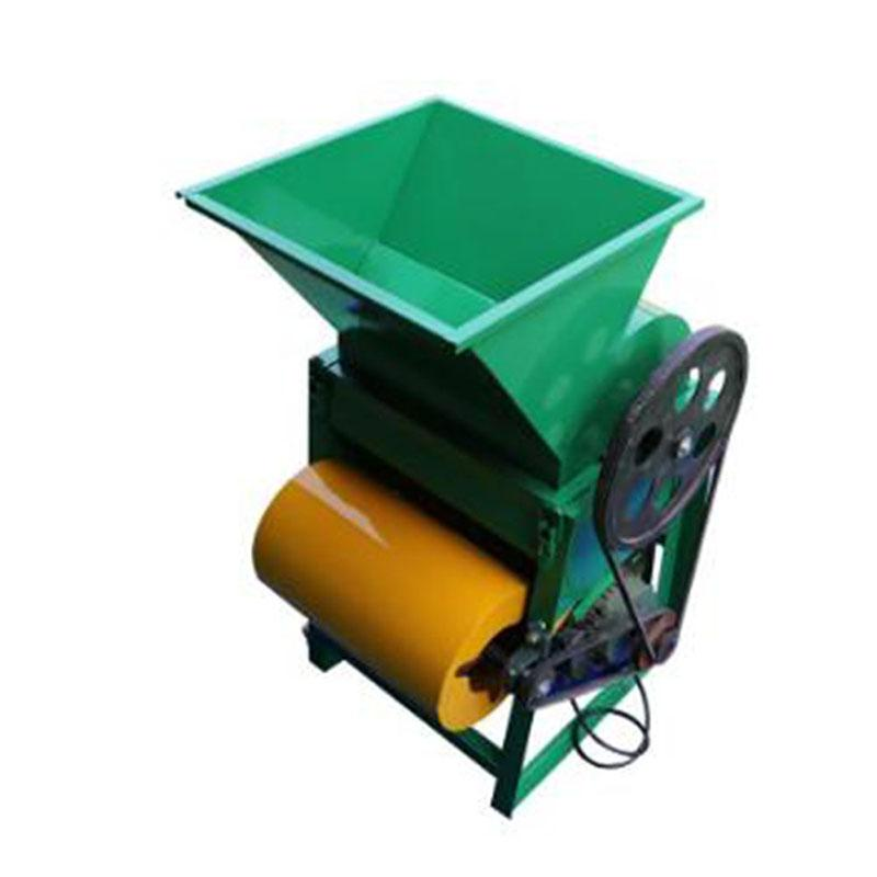 2020 nueva 220V caliente cacahuete descortezadora / cacahuete trilladora pelado shell eliminación de máquina / máquina desgranadora pequeño cacahuete