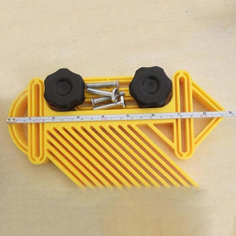 Tüy Loc Kurulu Testere Makinası Profesyonel Gravür Çok Amaçlı Yuvası Gönye Tablo El Aletleri Çift Ölçer yt5N # Oyma Ağaç