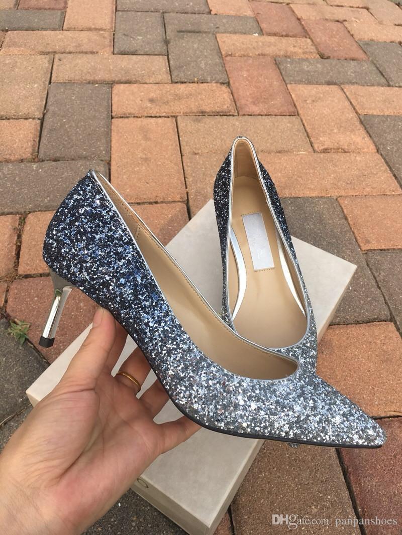 mulheres do desenhador saltos altos partido moda meninas sexy dança sapatos de casamento sapatos de casamento sapatos Tamanho: 34-40 fh19022706