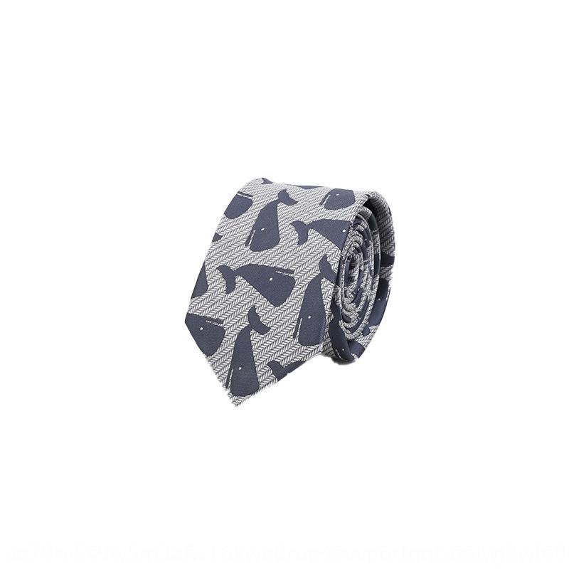 2rk9J Manu polyester loisirs professionnel des affaires de la mode britannique hommes soie 1200 aiguille Manu broderie La cravate embroiderymen Fashio britannique