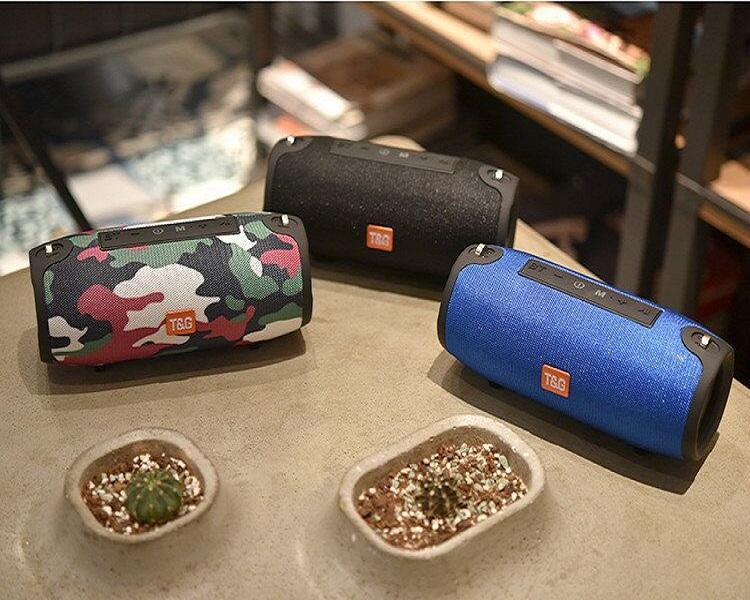 TG125 sem fio Bluetooth Speaker HIFI música leitor de áudio Strap Super Bass Subwoofers portátil Mini alto-falantes com gancho