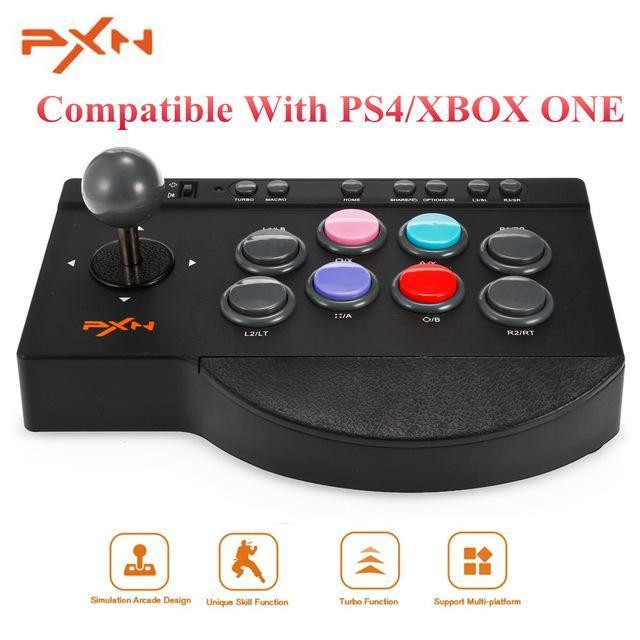PXN Handy-Spiel-Controller-USB Wired Arcade Joystick Gaming-Controller Griff gampad Gaming Controle Griff Steuerung für Smartphones Telefon PC