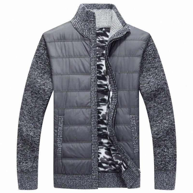 NAMTHEUN 2020 Kış erkekler yün ceket yün hırka kas Fit Trikotaj bluz Sonbahar için Şık Erkek Giyim artı boyutu ceket BDKB #