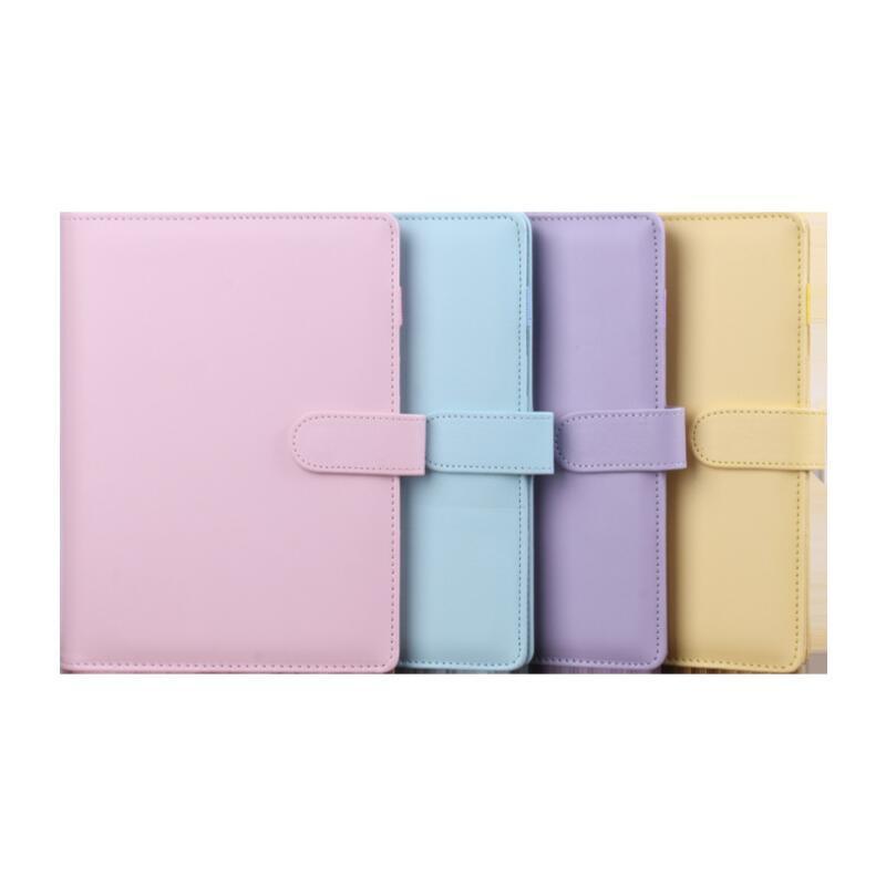 2020 매직 도서 메모장 귀여운 A6 멀티 컬러 노트북 학교 사무실 용품 학생 파티 선물 LX2624