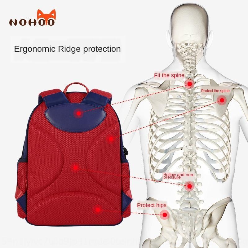 pxjQE Nuohu nueva mochila para los estudiantes de la escuela primaria liviana y ultra-profunda carga a granel carga reductora de Nuohu nueva backpackb mochila