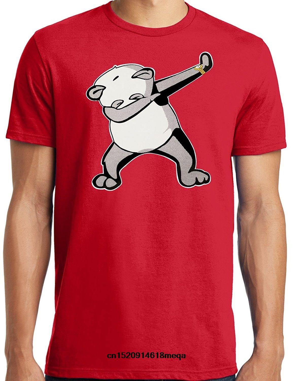 camiseta grande e engraçado tateamento Panda T-shirt Alto King Size Big Tamanhos