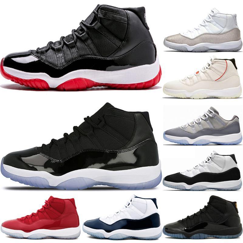 Nike Air Max Retro Jordan Shoes Bred 11 scarpe da basket Concord con 45 11s tappo e NakeskinGiordaniaRetro scarpe da ginnastica abito 9 sogno lo faccio UNC spazio marmellate