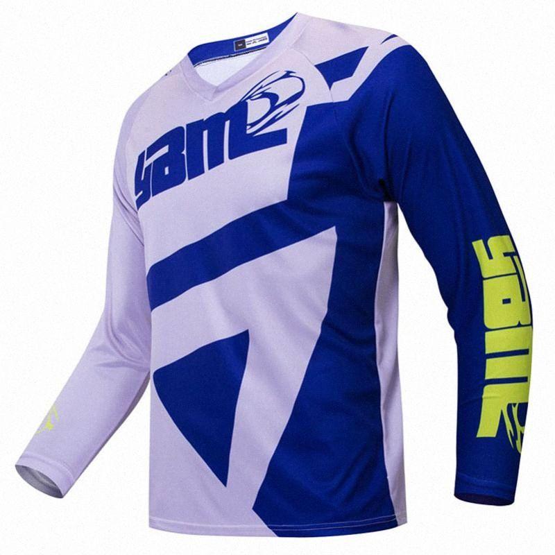 Bisiklet forması kiti Uzun Kollu kafa üstü motosiklet t Gömlek Retro MTB Downhill giyim Tw6e #