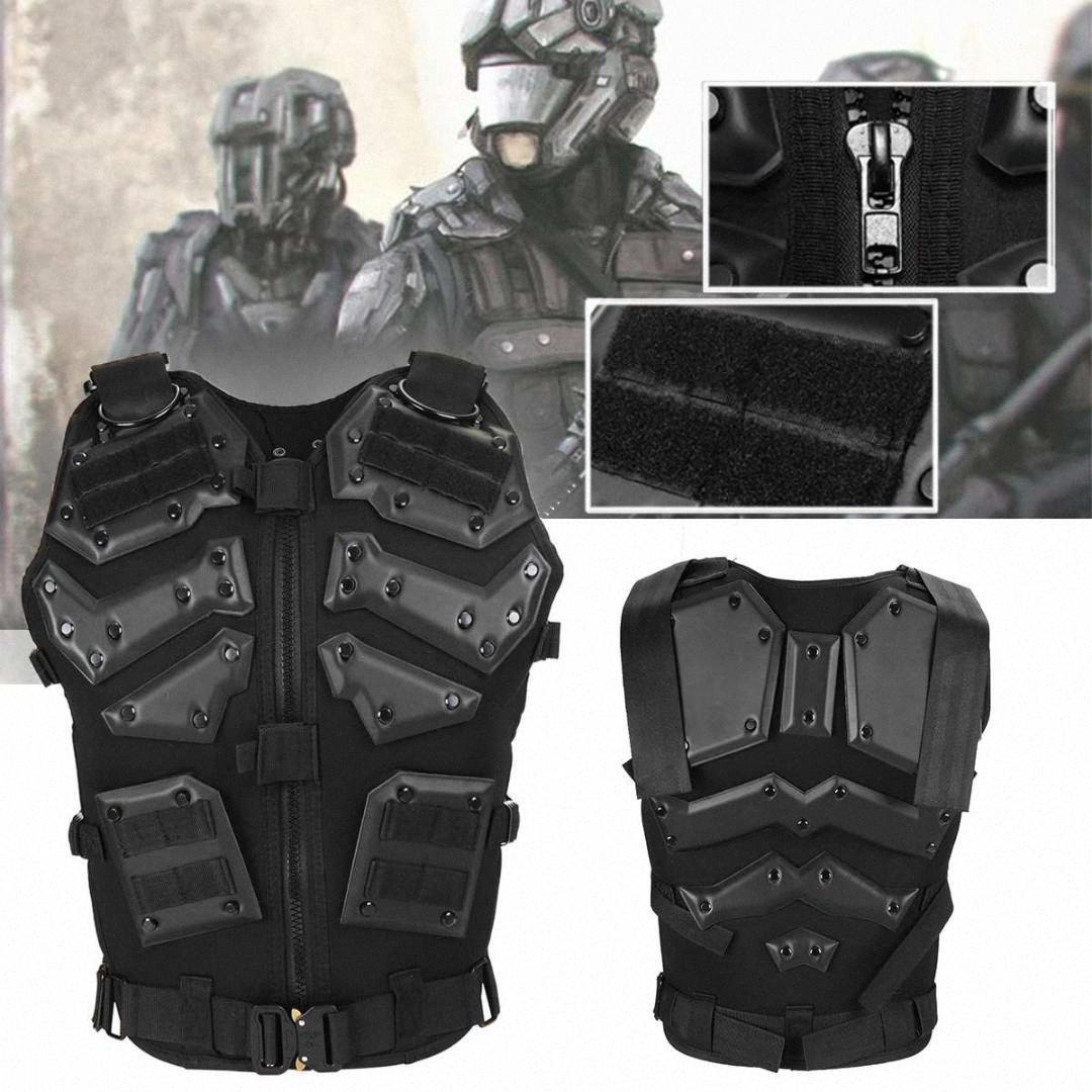 Tactical Vest Molle Combat Охота бронежилет жилет Открытый Игра Одежда Охота Обучение Защита KfUD #