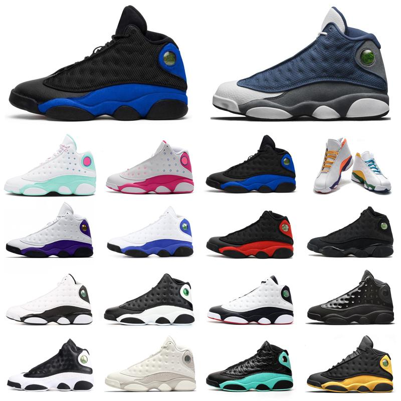 retro 13 Flint 13 Jumpman 13s zapatos de baloncesto de los hombres Hyper Real Zona de juegos Aurora Isla Verde Rosa Rivals Mujeres Hombres Entrenadores moda zapatillas
