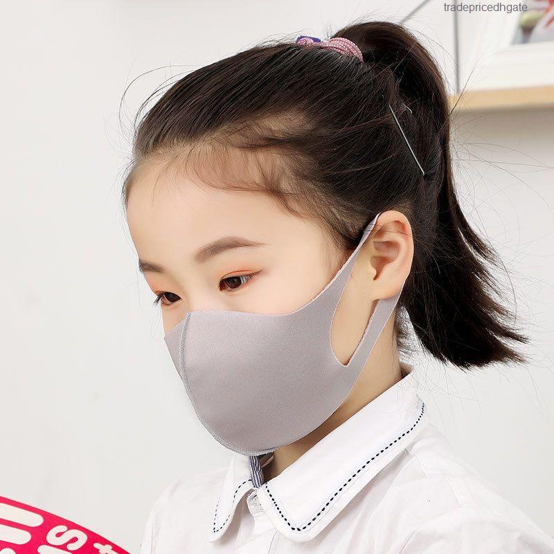 Kinder Mund Gesicht Abdeckung Antistaub PM2.5 Maske Respirator Staubdichtes Waschbar wiederverwendbare Baumwoll Masken Werkzeuge