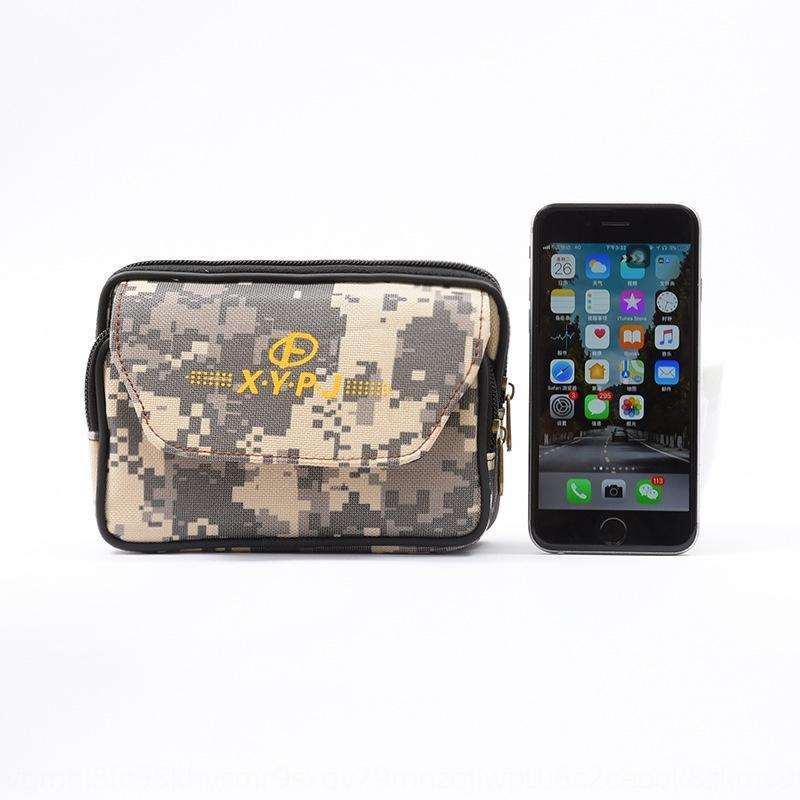 Men's mobile phone casual belt running mobile phone bag multi-function horizontal running bag