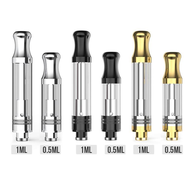 Подлинная электронная сигарета масла аппаратных Vape удар в К5 картридже регулируемый поток воздуха вверх Pyrex стеклянная трубка 510 нити Распылитель подходят Klasik комплект