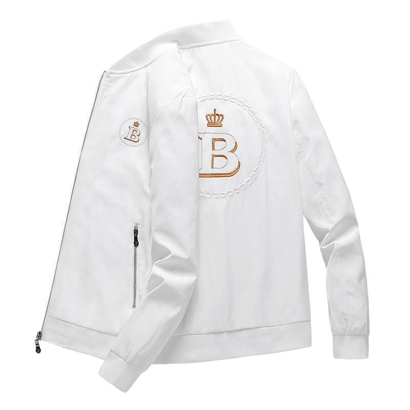 Erkek Tasarımcı Kapşonlu Ceketler = WINDBREAKER Spor Yeni Bahar Sonbahar Casual Ceket Giyim Fermuar Yaka Ekose Baskılı İnce Ceket ~ 50