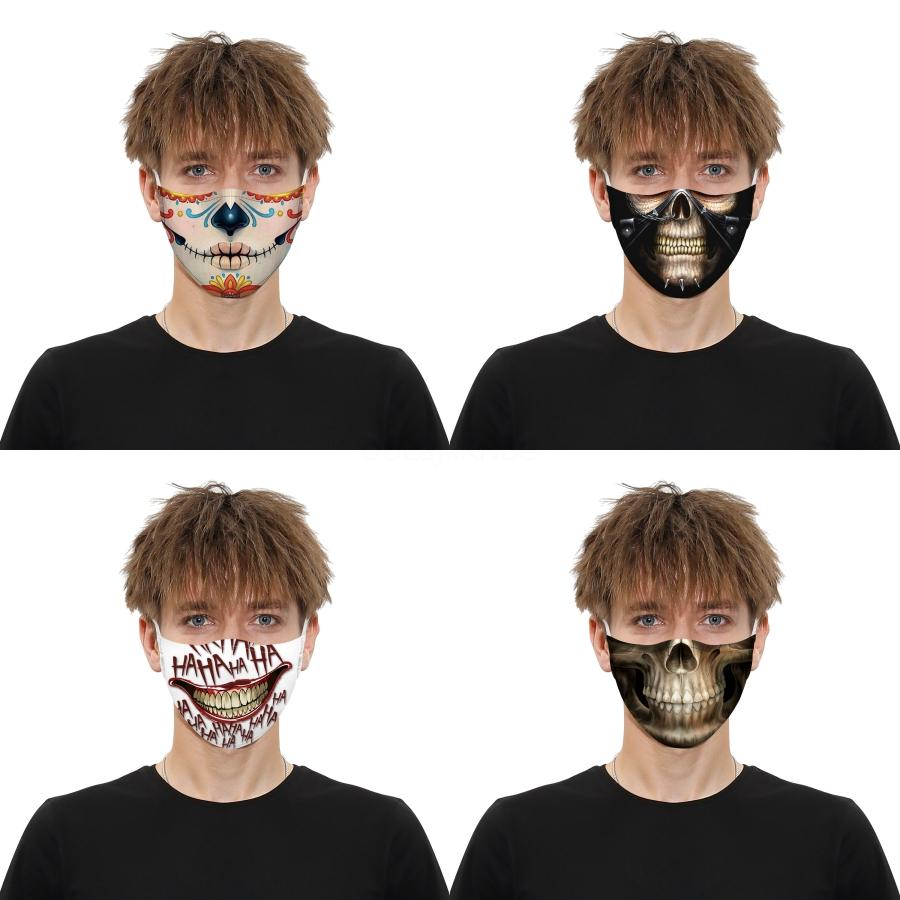 Fllower Printed Face Masks Adult Washable Shield Masque Masks Nose Protection Cotton Masks Anti-Dust Dust Proof Mask Free Shipping#341