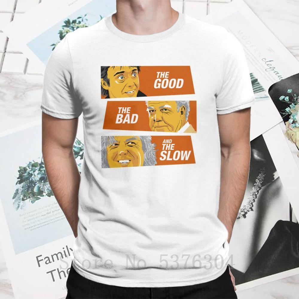 The Good The Bad And The T-shirt lento Clint Eastwood Cotton engraçados Plus Size O Pescoço Vestuário Homens de manga curta