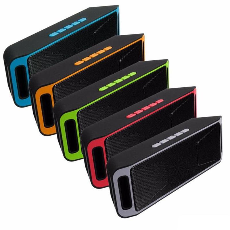 SC208 sem fio Bluetooth Speakers mini alto-falante de música portátil sem fio Baixo Som Subwoofer alto-falantes para o telefone esperto e Tablet PC