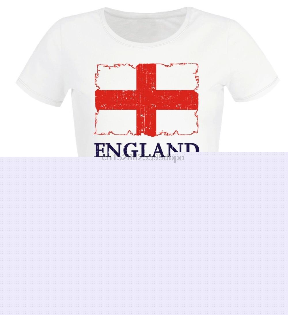 2020 Frauen T-Shirt T-Shirt England Soccers T Footballer Shirt Frauen Cute T-Shirt Sommer