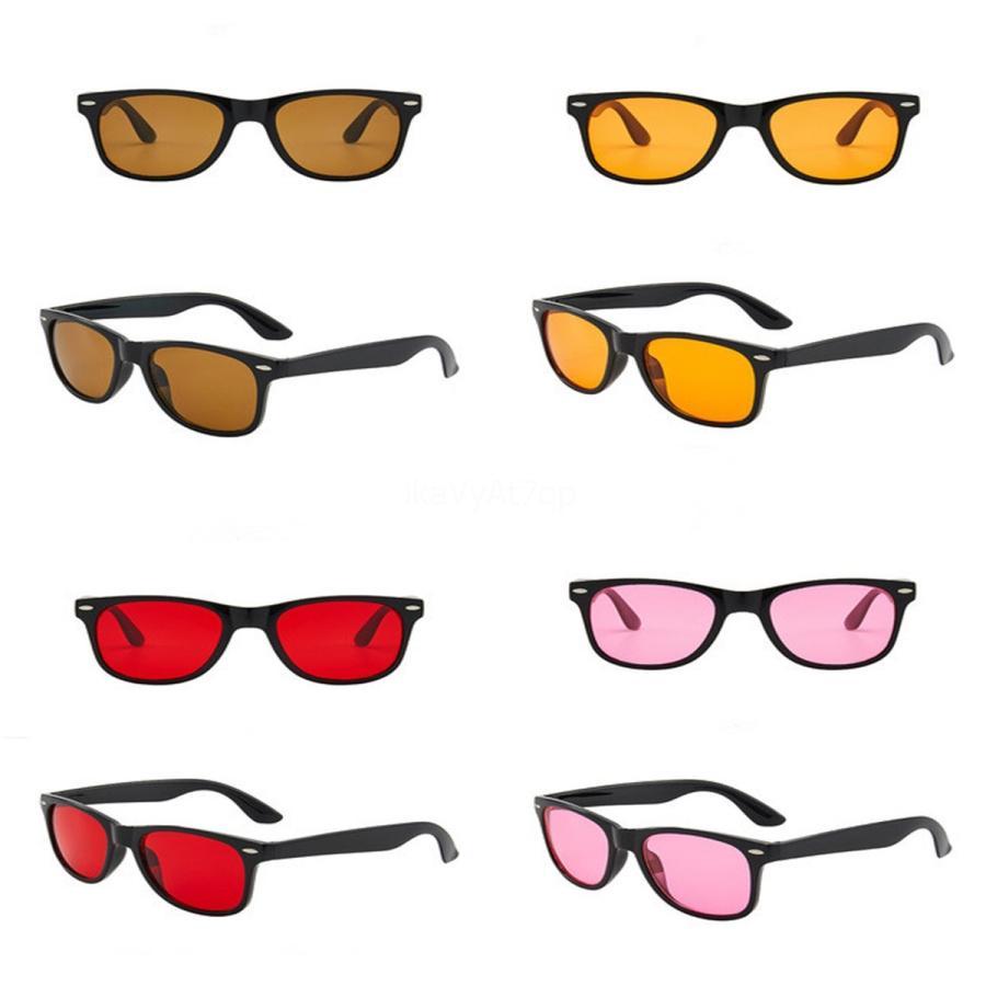 2020 Seksi Çerçevesiz Güneş Kadınlar Şeffaf Gradient Retro Kadın Sunglass Bayanlar Güneş Gözlükleri İçin Kadınlar # 717