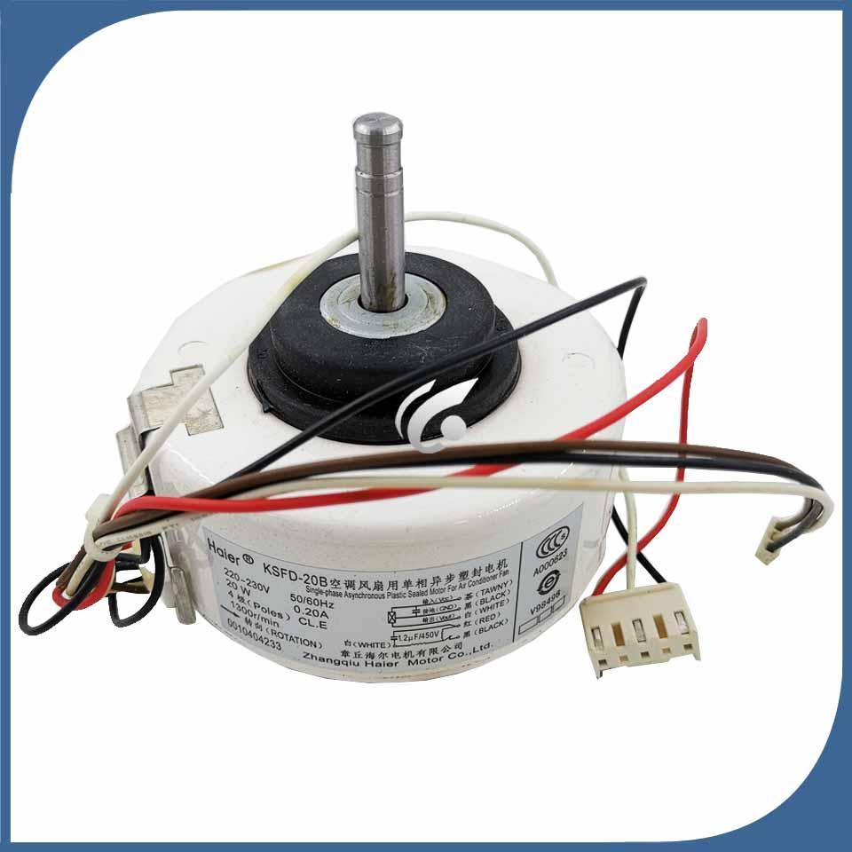 Klima iç makine motor KSFD-20B 0010404233 220V motor fan için% 100 yeni iyi bir çalışma